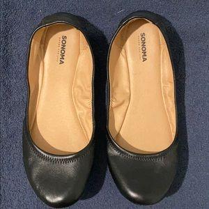 Sonoma Black Size 9 Flats